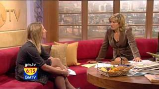 Repeat youtube video Penny Smith GMTV 13 11 08