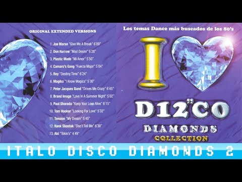 """███ I LOVE """"ITALO DISCO"""" - DIAMONDS 2 (most wanted songs ever) Remastered + tracklist"""