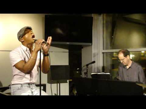 Marque Lynche sings