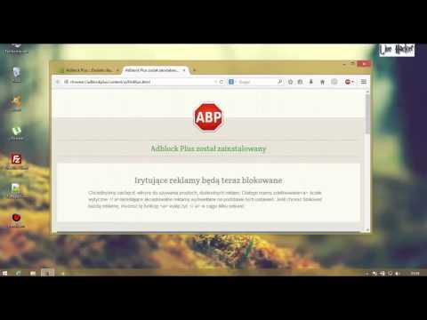 Poradnik #2 - Jak usunąć reklamy z przeglądarek Mozilla Firefox i Google chrome
