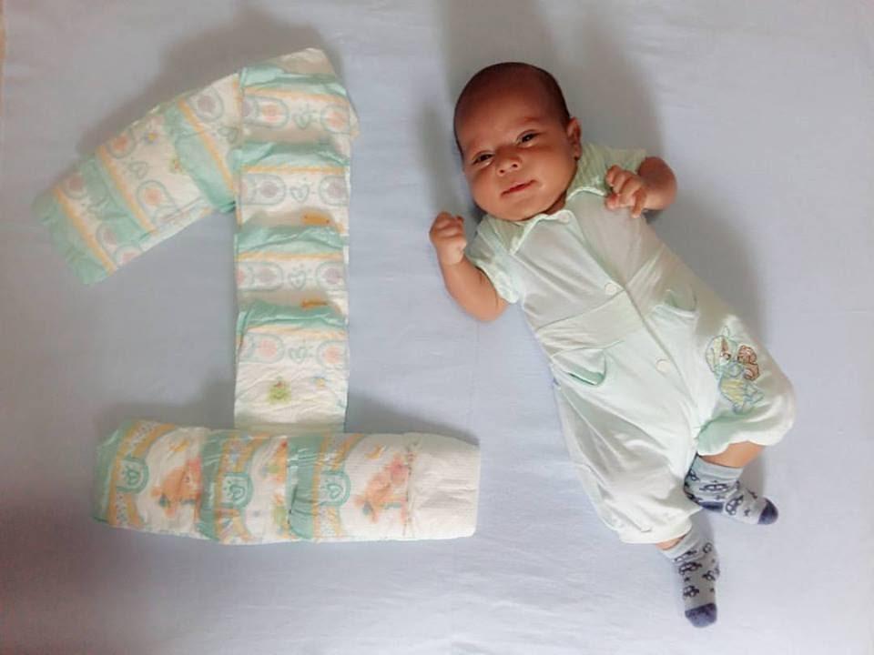 1 Mes Do Bebe