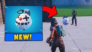 *NEW* Icy Chiller Grenade! (Fortnite)
