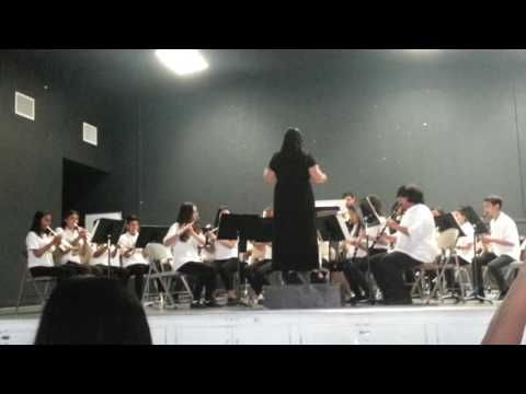 Advance Band Part 2 at Lee Mathson Middle School