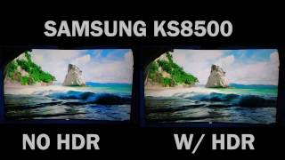 This video is running on a samsung ks8500 series tv, the camera recording 1080p, for better results switch to 1080p you tube. thank yo...