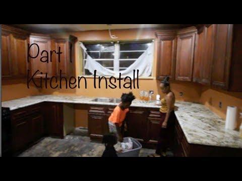 Kitchen Renovation Build Aug 2019 Part 1