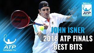 John Isner: 2018 Nitto ATP Finals Highlights
