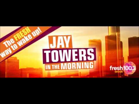 1st Day As Intern: Jay Towers In The Morning | Fresh 100.3 FM Detroit
