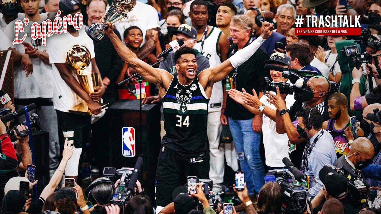 Les Bucks sont champions NBA 2021 : Giannis au sommet !