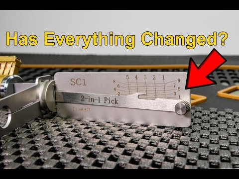 [273] First Look At The New SC1 Lishi 2-in-1 Pick and Decoder