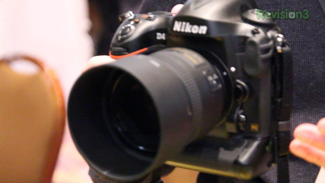 Nikon D4 Hands On - The Best DSLR?