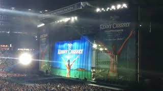 Kenny Chesney Opening The Show 8-2018