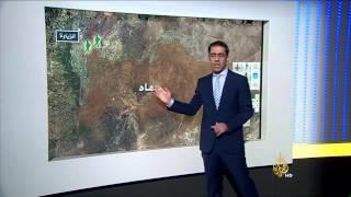 خريطة المواجهات بأكثر من منطقة في سوريا