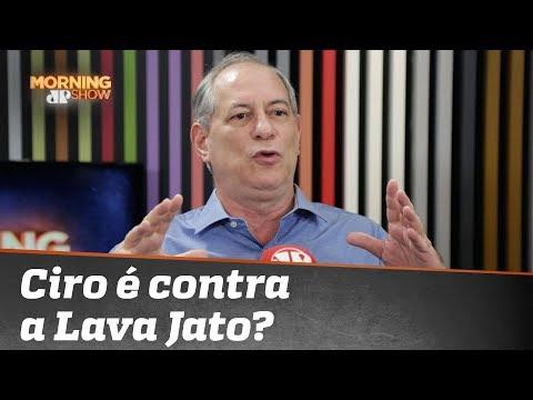 "Ciro Gomes analisa ""Vaza-Jato"""