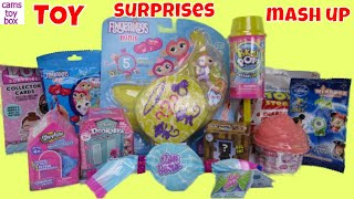 Unboxing NUM NOMS SHIMMER LOL Surprise Pikmi POPS Disney Toy Story Blind Bags Shopkins Fingerlings