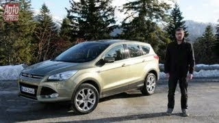 2013 Ford Kuga review - Auto Express(Read more: http://www.autoexpress.co.uk/ford/kuga/61935/new-ford-kuga Watch our video review of the bigger, more practical, new Ford Kuga as it arrives in ..., 2013-01-08T09:47:30.000Z)