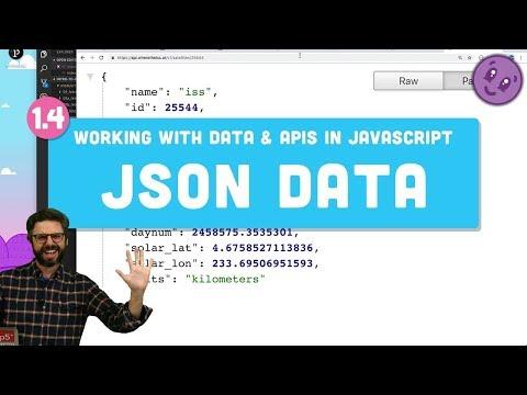 1.4: JSON -