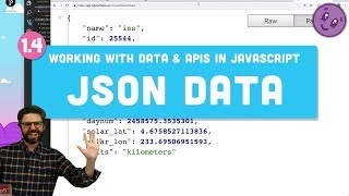 1.4: JSON - Working With Data And APIs In JavaScript