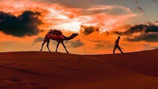 Arabian Music [4K] - Meditation in Desert (Part 3), Arabian Flute & Arabian Nights
