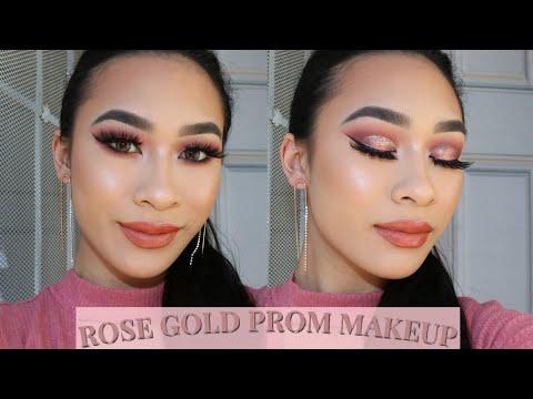 Rose Gold Fantasy | Prom 2019 Makeup Tutorial thumbnail