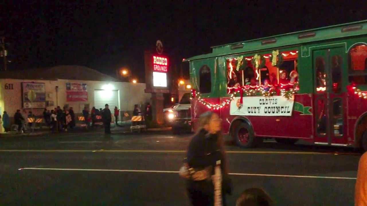 Christmas Parade In Clovis 2020 Christmas Parade 2013   Clovis CA   YouTube