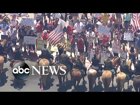 Protesters Take Demands To Reopen US To The Streets | WNT