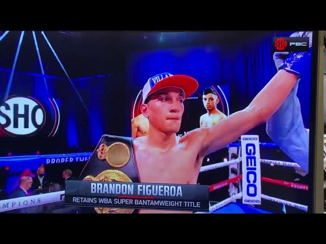 "Weslaco's Brandon ""The Heartbreaker"" Figueroa wins against Damien Vasquez"