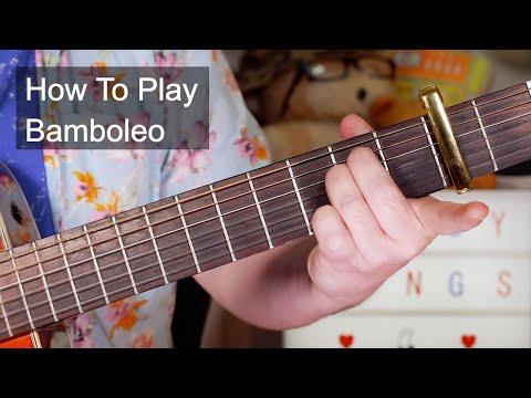'Bamboleo' The Gipsy Kings Guitar Lesson