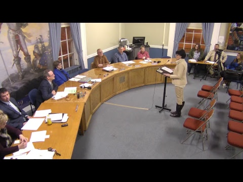 City of Plattsburgh, NY Meeting  1-25-18