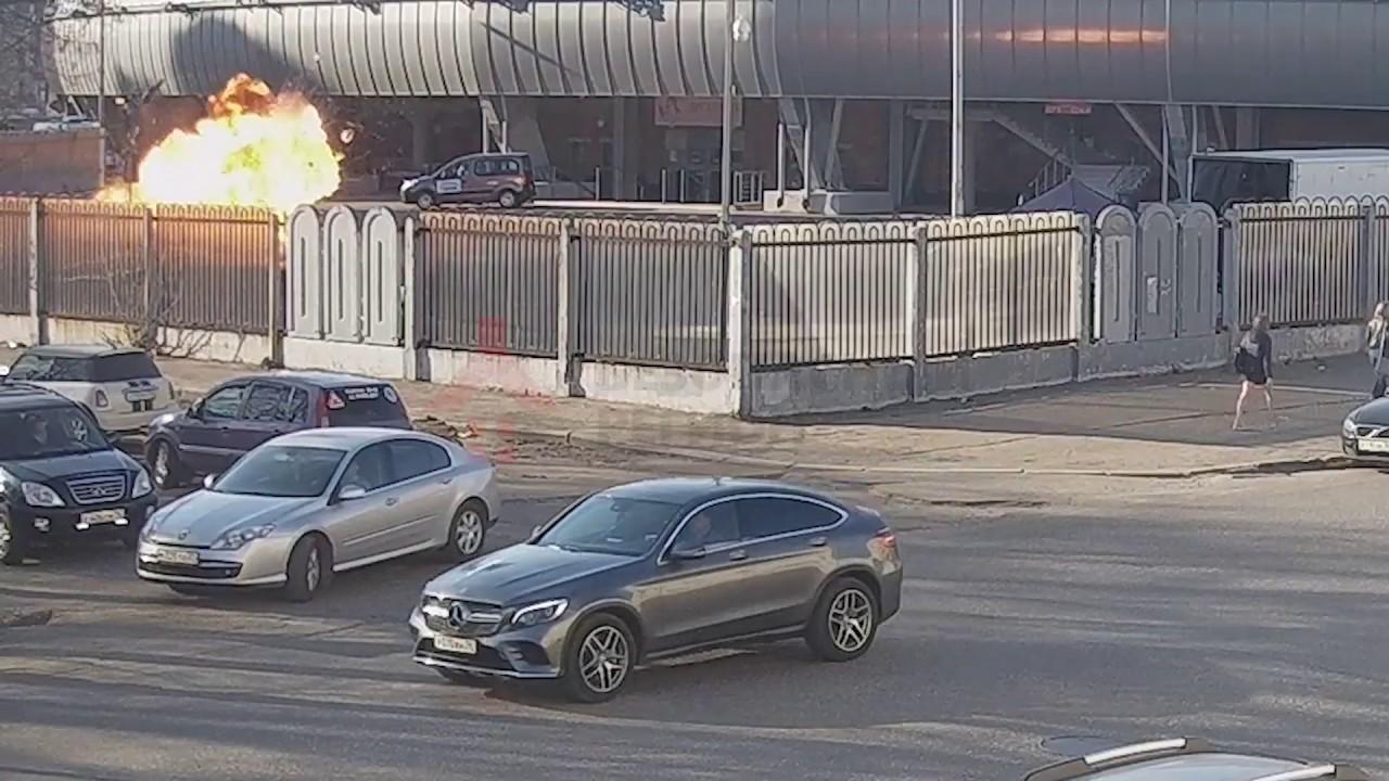 Взрыв на стадионе