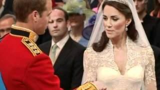 Видео церемонии свадьбы Английского принца Уильяма.
