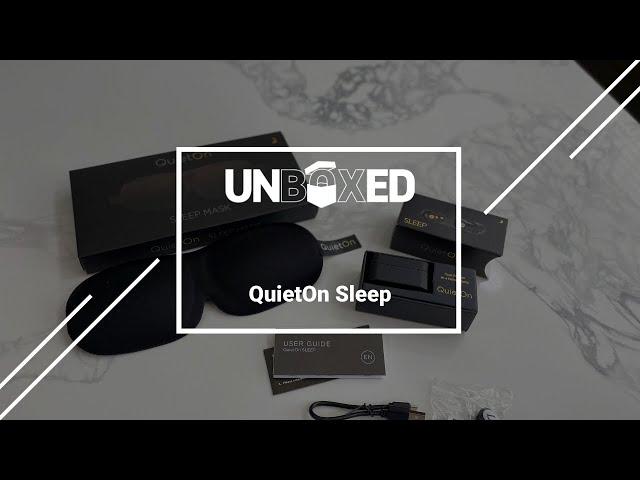 UNBOXED: QuietOn SLEEP