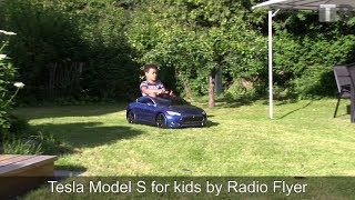 Tesla Model S for kids by Radio Flyer review