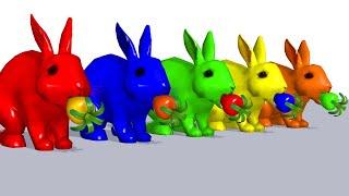 색칠 게임 거대한 애완 동물 | 자녀 교육 #9
