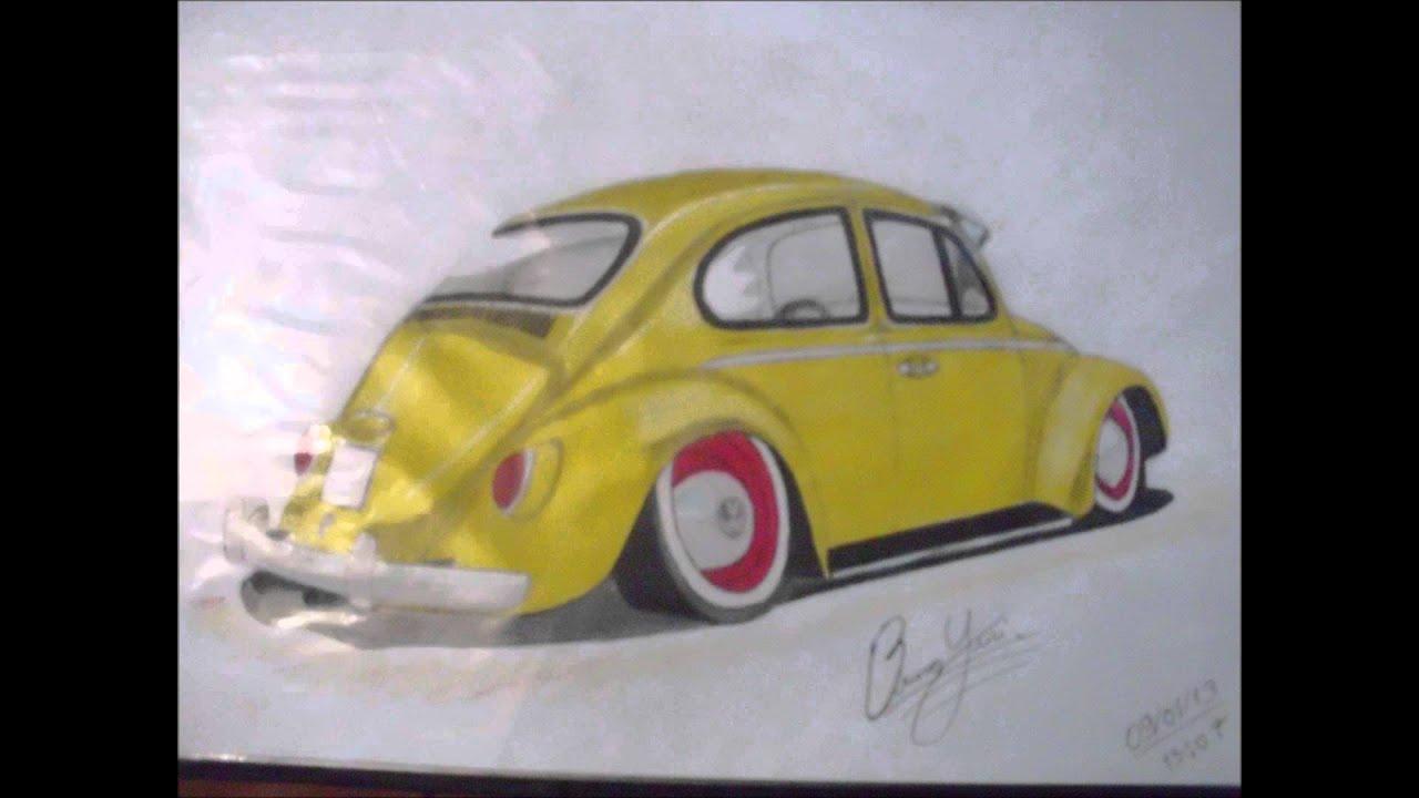 Excepcional desenhos de carros rebaixados 3 ediçao - YouTube OQ45