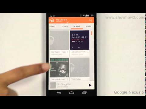 Google Nexus 5 - Play Music
