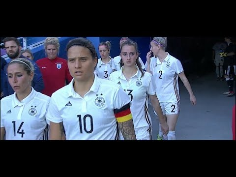 (2) France vs Germany 3.7.2018 / SheBelieves Cup 2018