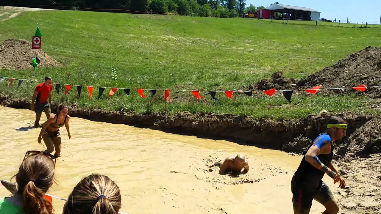 Tough Mudder Pitfall Obstacle