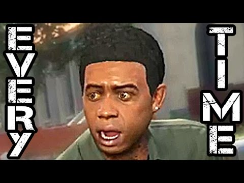Every Time Lamar Davis Says Nigga In Grand Theft Auto V