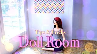 DIY - How to Make:  Doll Room Tips & Tricks - In Depth - Handmade - Crafts - 4K