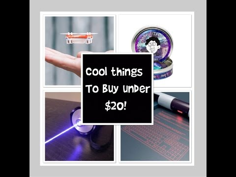 COOL THINGS to buy on Amazon for under $20