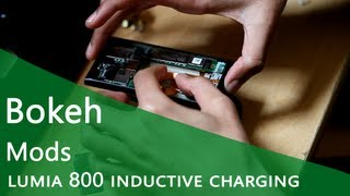 Lumia 800 Wireless Charging Mod