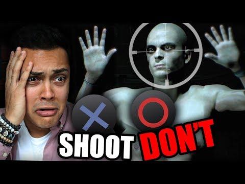 SHOOT OR DONT?!? CHOOSE YOUR ADVENTURE !!! (Hidden Agenda)