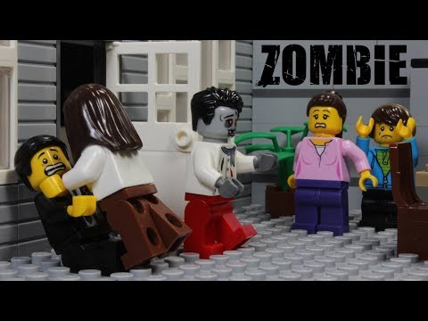 Lego Zombie Inception Episode 1 Stop Motion Animation
