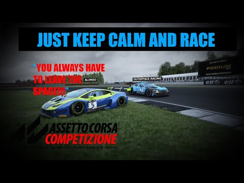 Assetto Corsa Competizione Online Race: Racing Against ALONSO? :D |