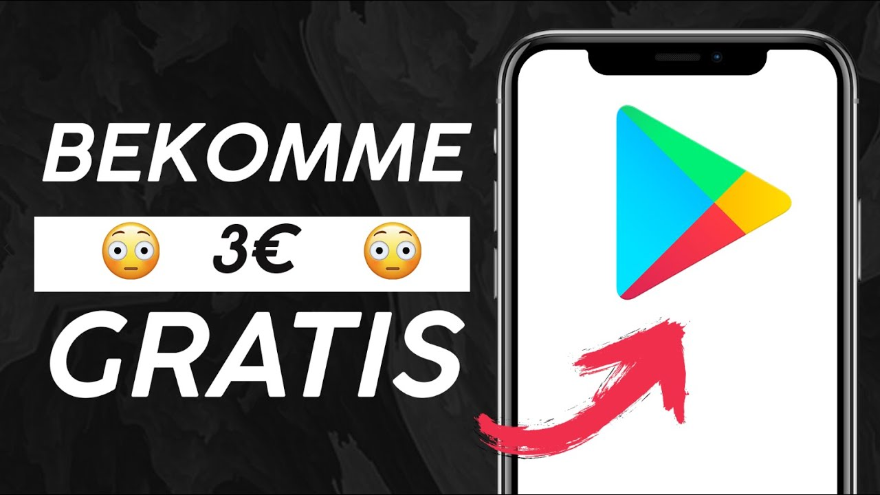 GRATIS Google play Guthaben 💰 Google Play Guthaben