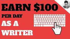 How to Earn 100$ 🤑 a Day as a Writer 👨‍💻(Textbroker alternatives)