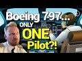 The TRUTH behind Boeing's ONE PILOT aircraft