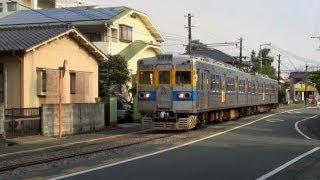 熊本電鉄 藤崎線 併用軌道区間 (18-Aug-2012)