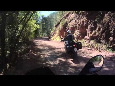 Dual sport ride from Mogollon,NM to Snow lake ,NM...