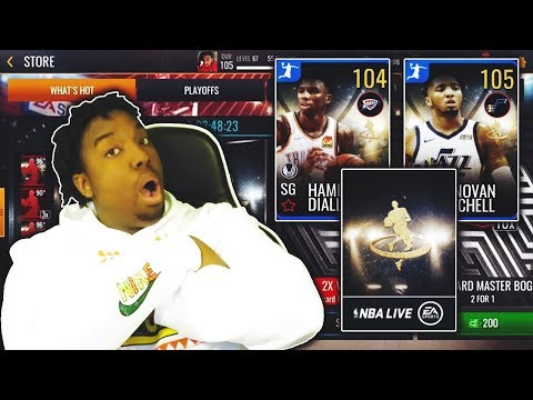 MASSIVE NBA LIVE MOBILE 19 HIGH FLYERS PACK OPENING!!!